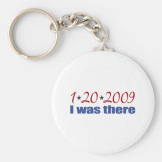 Estaba allí Obama 1-20-09 Llaveros