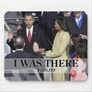 ESTABA ALLÍ: Obama que jura en ceremonia Tapete De Ratones