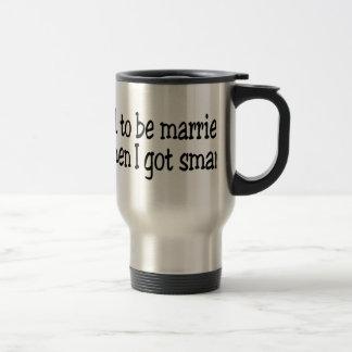 Estaba casado taza de viaje