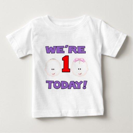 Estaba UN hoy BOY/GIRL Camisas