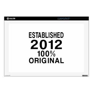 Establecido 2012 skins para 43,2cm portátiles