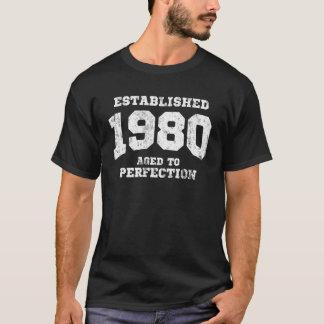 Establecido el an o 80 envejecido a la perfección playera