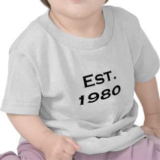 establecido el an o 80 camisetas