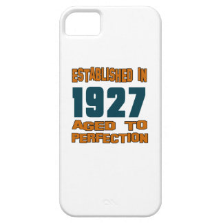 Establecido en 1927 iPhone 5 carcasas