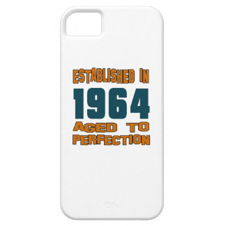 Establecido en 1964 funda para iPhone 5 barely there