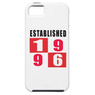 Establecido en 1996 iPhone 5 Case-Mate fundas