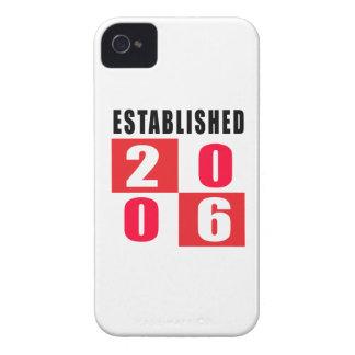Establecido en 2006 iPhone 4 Case-Mate fundas