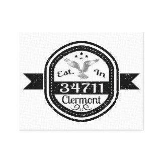 Establecido en 34711 Clermont Impresión En Lienzo