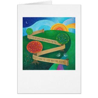 Establecimiento de la tarjeta de nota de Torah