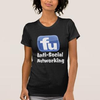 Establecimiento de una red antisocial camiseta