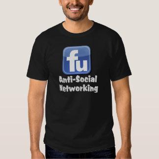 Establecimiento de una red antisocial remeras