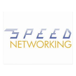 Establecimiento de una red de la velocidad postal