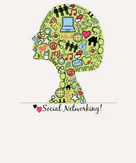 Establecimiento de una red del Social del amor Playeras