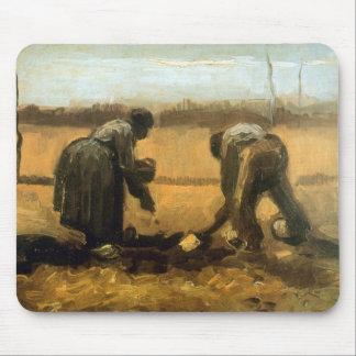 Establecimiento de Vincent van Gogh Tapete De Ratones
