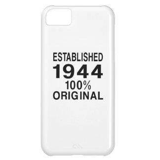 Established 1944 case for iPhone 5C