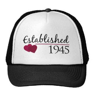 Established 1945 trucker hat