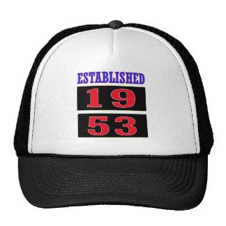 Established 1953 trucker hat