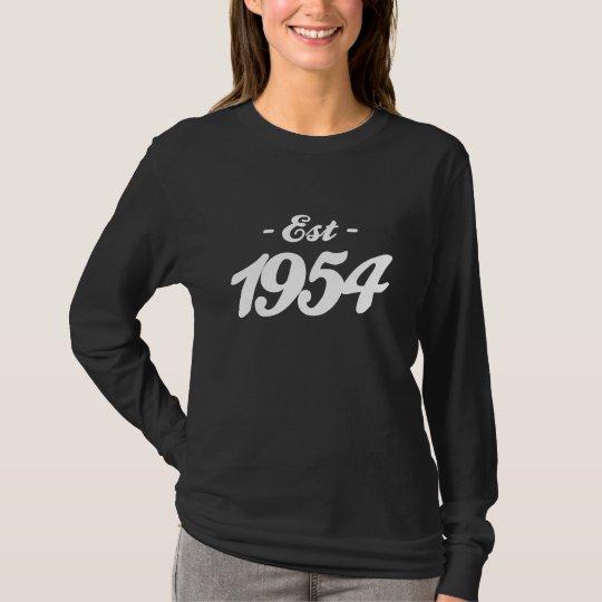established 1954 - birthday T-Shirt
