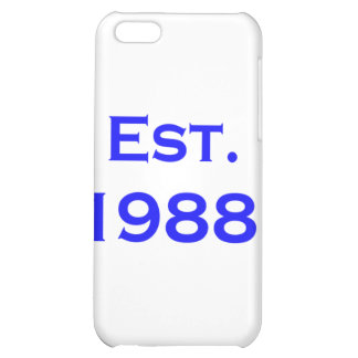 established 1988 iPhone 5C cover