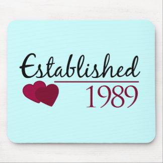 Established 1989 mouse pad
