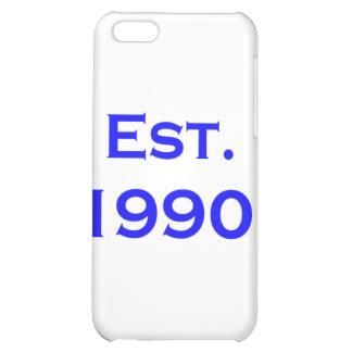 established 1990 iPhone 5C cases