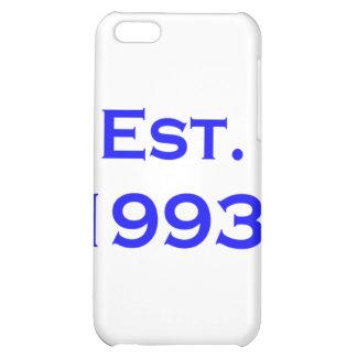 established 1993 iPhone 5C cases