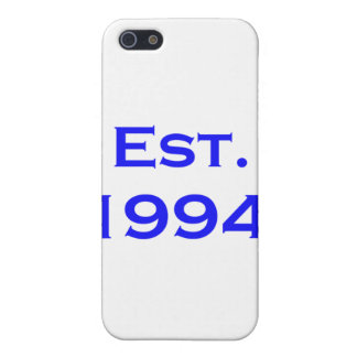 established 1994 iPhone 5 cover