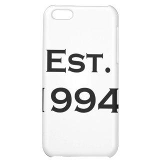 established 1994 case for iPhone 5C