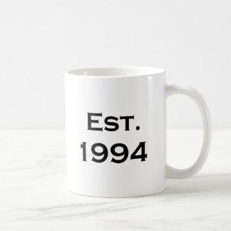 established 1994 mugs