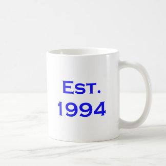 established 1994 coffee mug