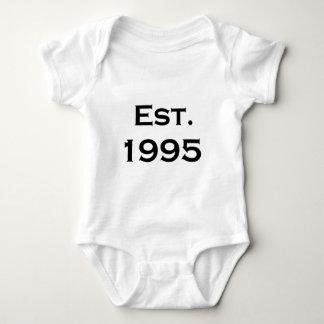established 1995 baby bodysuit