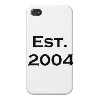 established 2004 iPhone 4 case