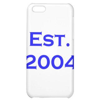 established 2004 case for iPhone 5C