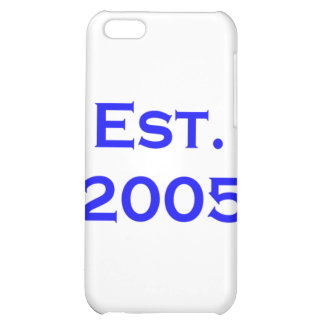 established 2005 iPhone 5C covers