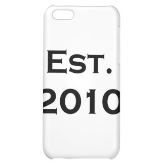 established 2010 iPhone 5C cover
