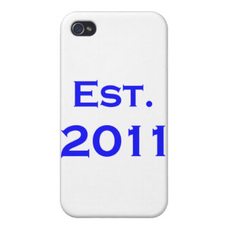 established 2011 iPhone 4 cover