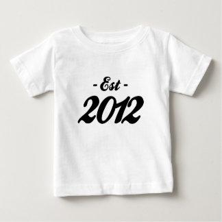 established 2012 - birthday baby T-Shirt