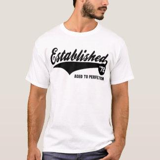 Established 72 - Birthday Shirt