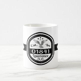 Established In 01841 Lawrence Coffee Mug
