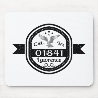 Established In 01841 Lawrence Mouse Pad