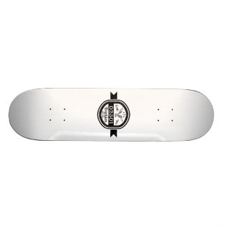 Established In 02301 Brockton Skateboard Deck