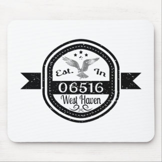Established In 06516 West Haven Mouse Pad