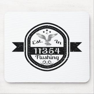 Established In 11354 Flushing Mouse Pad