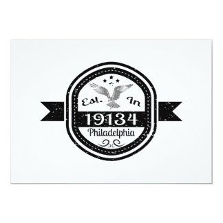 Established In 19134 Philadelphia Card
