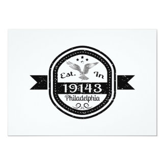 Established In 19143 Philadelphia Card