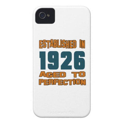 Established In 1926 iPhone 4 Case