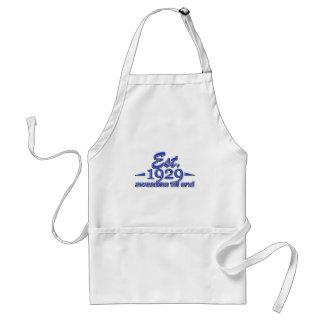 Established in 1929 adult apron