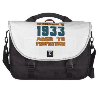 Established In 1933 Laptop Commuter Bag
