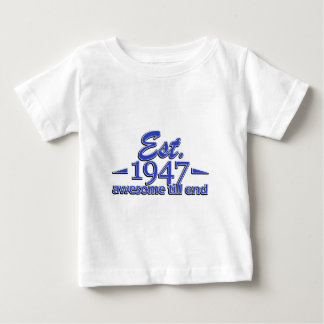 Established in 1947 baby T-Shirt
