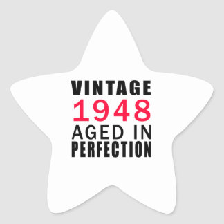 Established In 1948 Aged In Perfection Sticker